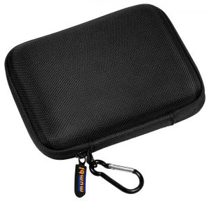 mumbi Festplattentasche schwarz