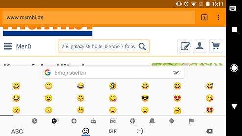 Android 8 - neue Emojis