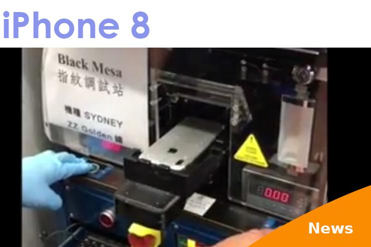 iPhone 8 Video zeigt Touch ID auf der Geräterückseite