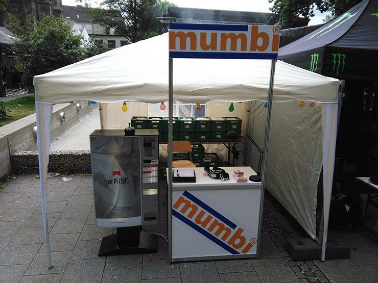 mumbi beim Nord Open Air 2017 in Essen