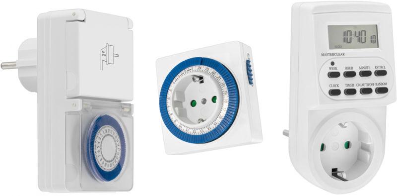 Zeitschaltuhren für Steckdosen: einstellen und anwenden